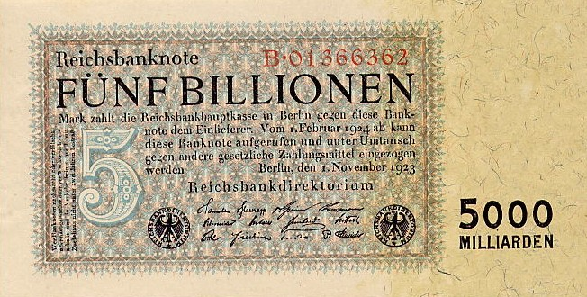 Banknote (1923); Wikimedia Commons